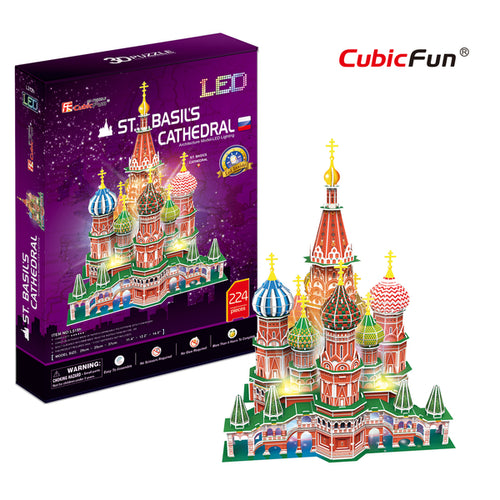 St. Basil's Cathedral, LED