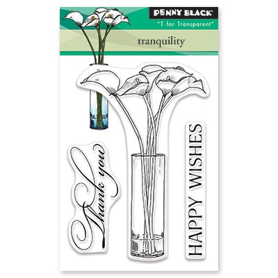 Penny Black Clear Stamps Tranquility
