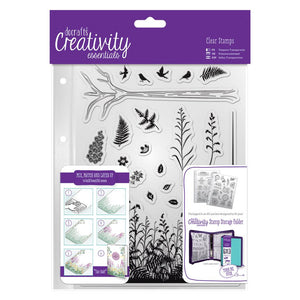 A5 Clear Stamp Set (20 pcs) - Forest
