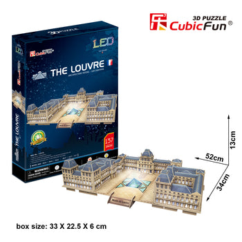 The Louvre, LED, 137pc