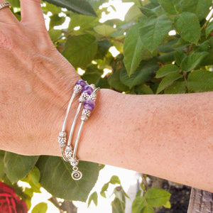 Purple Peace Bangle