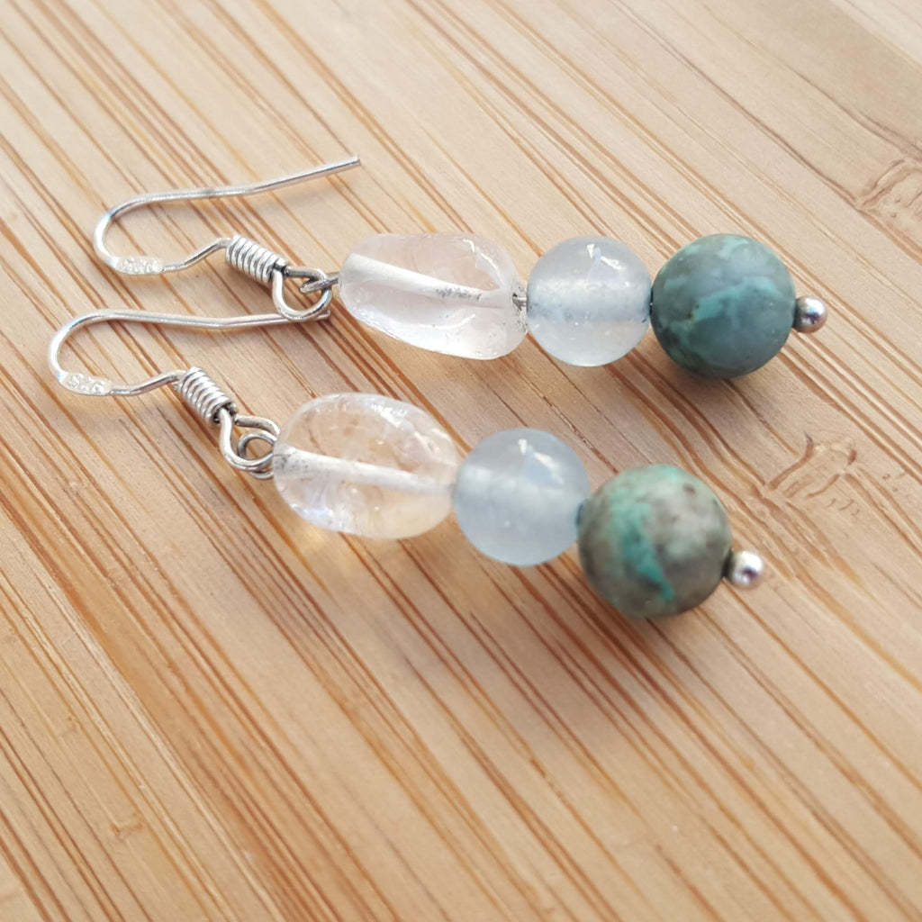 Falling Water Earrings