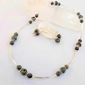 Bloodstones Baubles Set