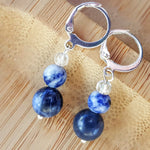 Blue Insight Earrings