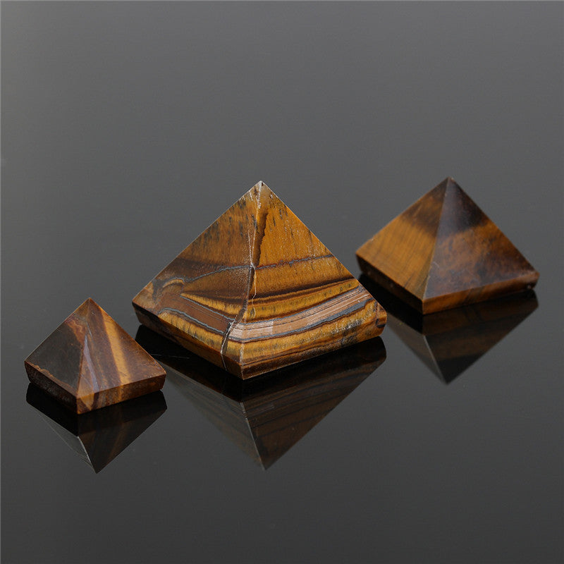Tiger Eye Pyramid Small Sizes 15/25/50mm