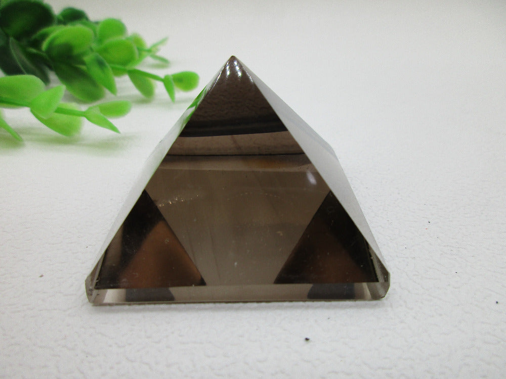 AAAA Natural Smoky Pyramid Quartz