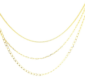 3 in 1 Layer Necklace