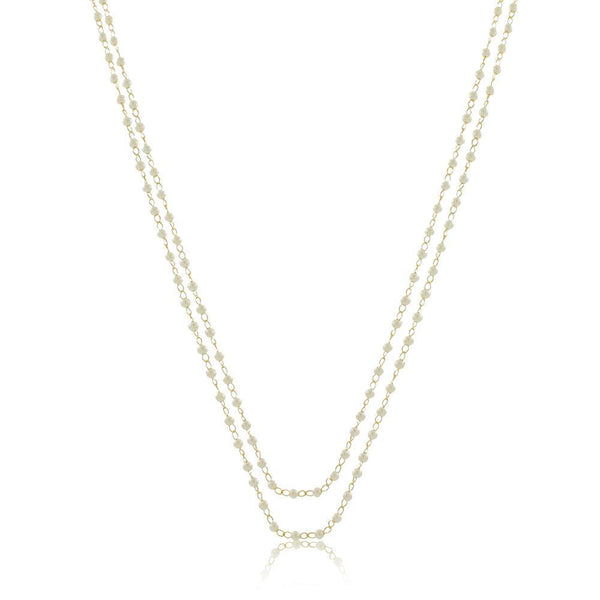 Leisha Pearl Necklace- 48""