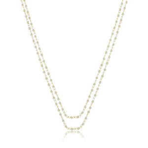 Leisha Pearl Necklace-28""