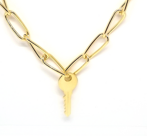Yanira Key Necklace