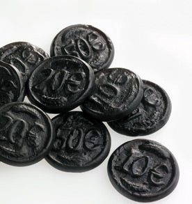Dutch Liquorice - Coins
