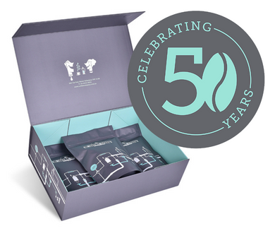 50th Birthday Coffee Box