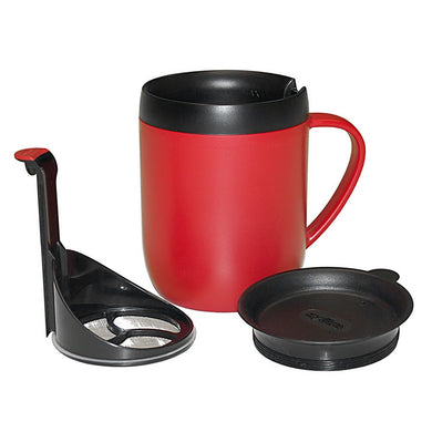 Double Walled Plunger Mug