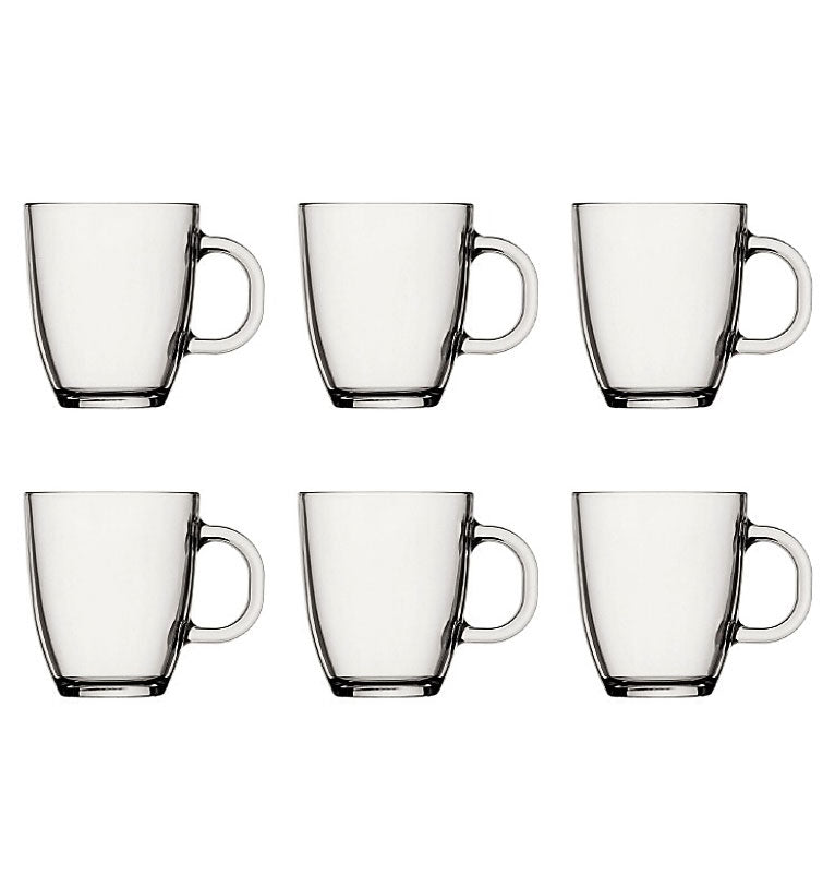 Bodum Bistro Glass Mug 300ml - 6 Piece