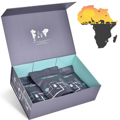 Africa Coffee Flight Gift Box
