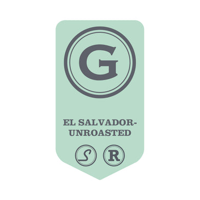 El Salvador Rainforest Alliance - UNROASTED