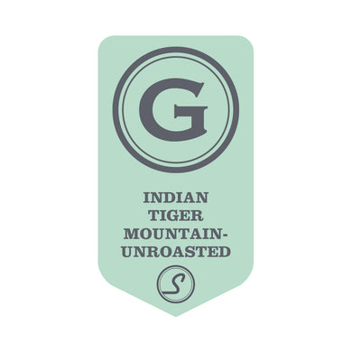 Indian Tiger Mountain - UNROASTED