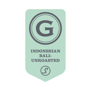 "Indonesian Bali ""God Mountain"" - UNROASTED"