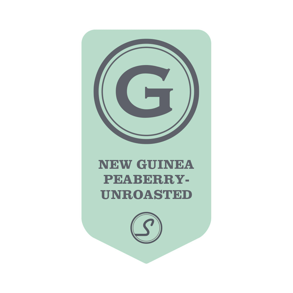 New Guinea Peaberry - UNROASTED