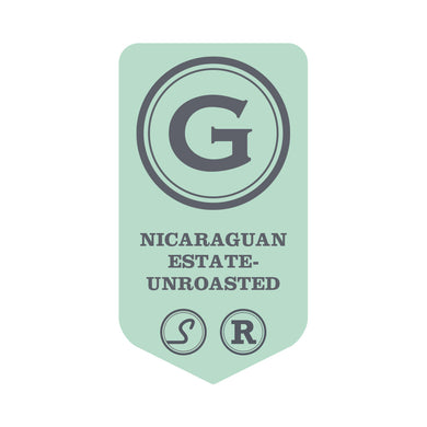 Nicaraguan Rainforest Alliance - UNROASTED