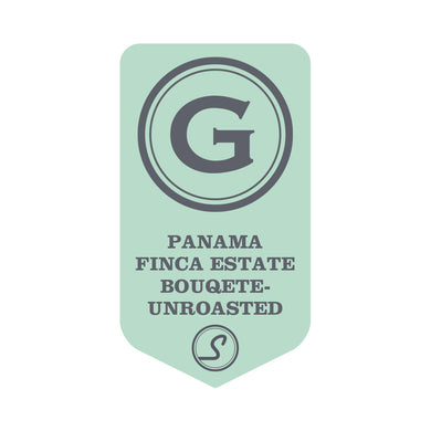 Panama Estate Bouqete - UNROASTED