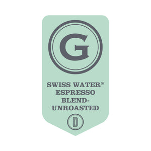 UNROASTED SWISS WATER® Decaffeinated Espresso Blend
