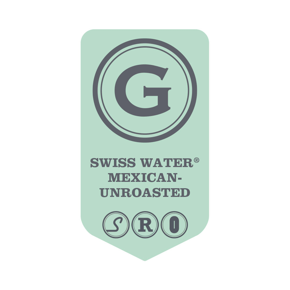 UNROASTED SWISS WATER® Decaffeinated Mexican Organic