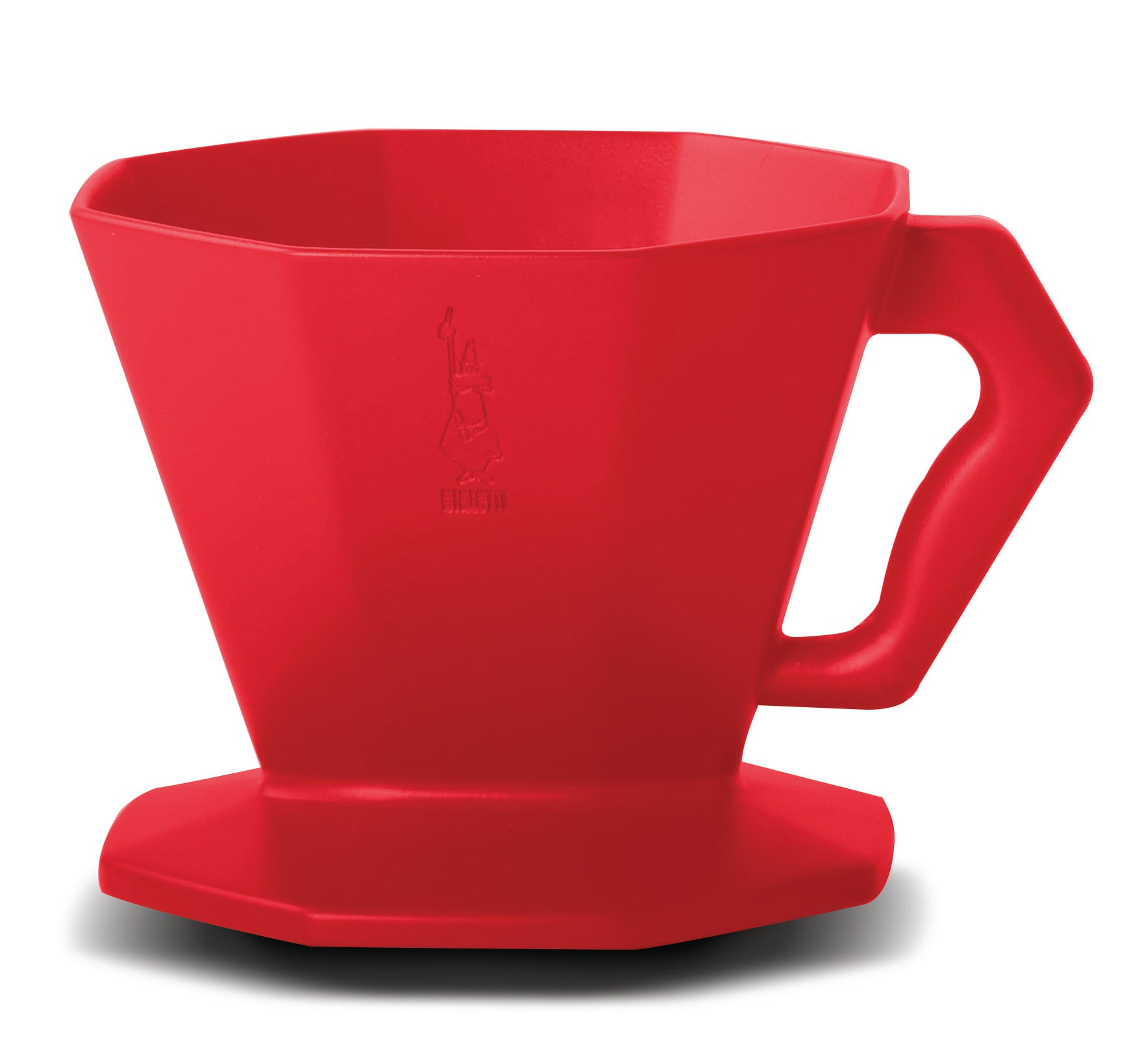 Bialetti Plastic Pour Over - Red 4 Cup