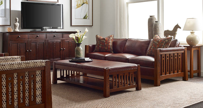 Stickley Living Room Sofas Amp Sectionals Stickleyfurniture