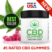 CBD GUMMIES | MIXED BERRY | 30 PIECES
