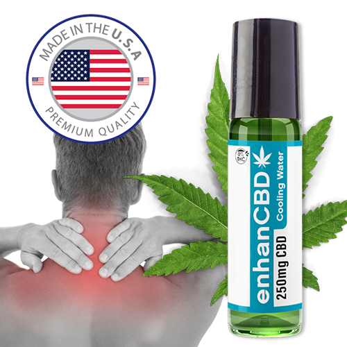 ADVANCED CBD OIL ROLLON | COOLING WATER