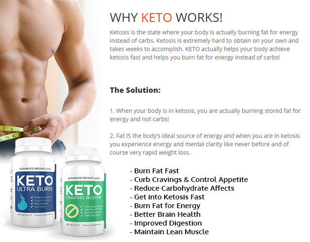A Keto Ultra Burn Keto Craving Buster