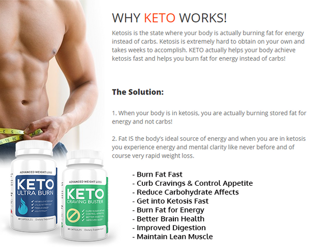 KETO ULTRA BURN + KETO CRAVING BUSTER