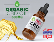 ADVANCED CBD OIL TINCTURE | PAIN RELIEF | 500MG