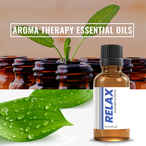 AROMATHERAPY ESSENTIAL OIL - RELAX