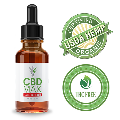 CBD MAX PAIN RELIEF OIL TINCTURE