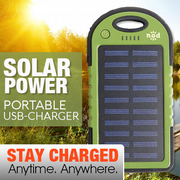 BEAM BANK SOLAR POWER CHARGER