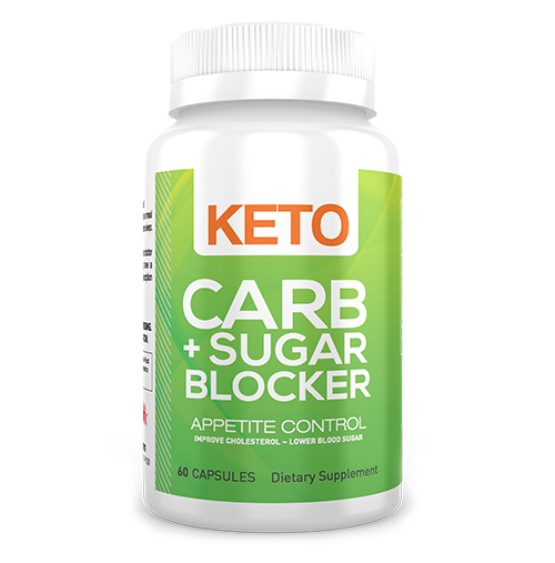 KETO CARB + SUGAR BLOCKER