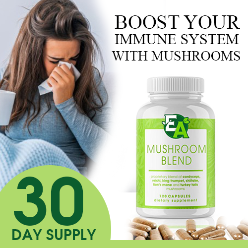 MUSHROOM BLEND (Just Pay S&H)