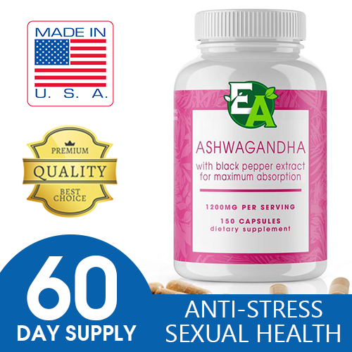 ASHWAGANDHA 1200MG 120CT