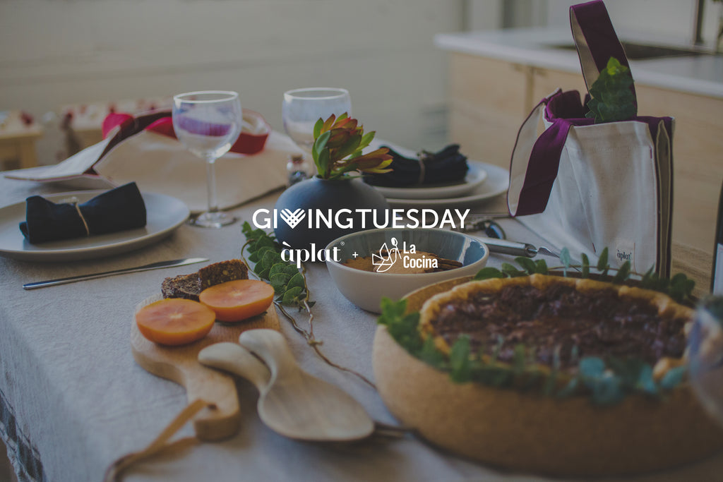 Aplat + La Cocina on Giving Tuesday