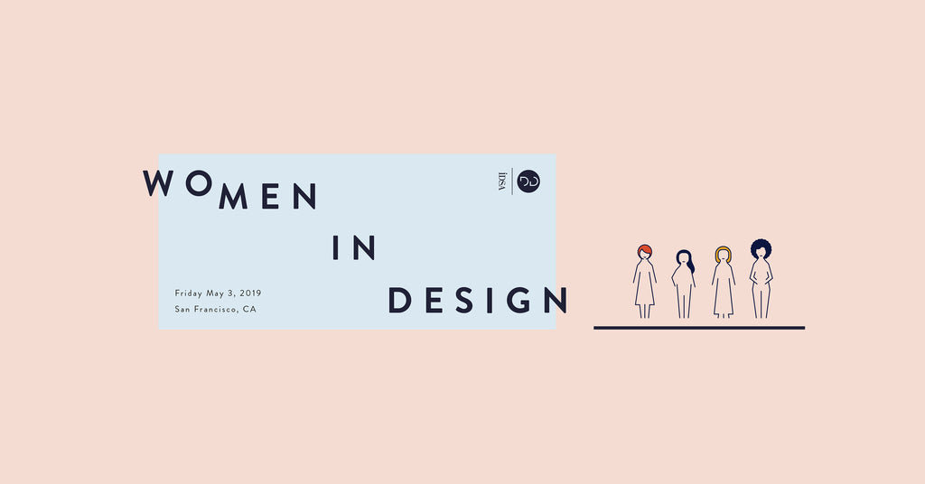 Shujan Bertrand speaking at Women in Design Deep Dive 2019
