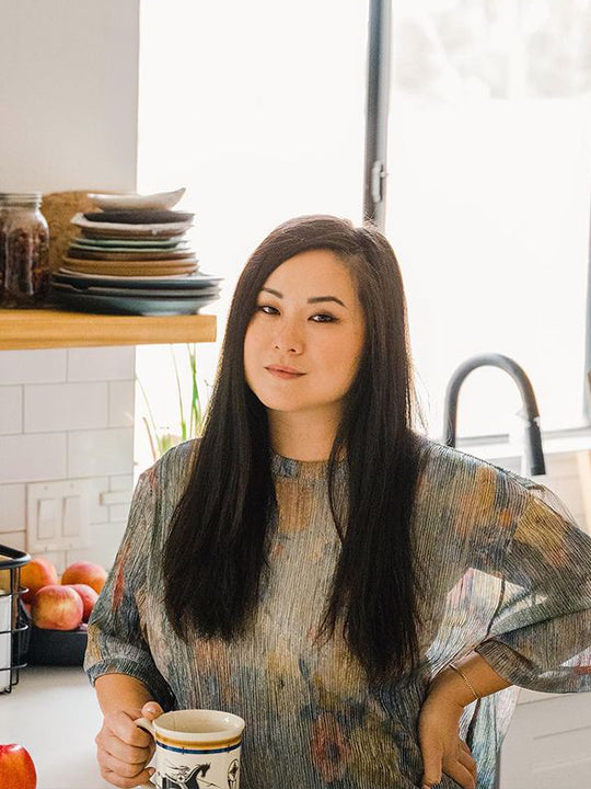 Jin Gao, founder of Fly By Jing