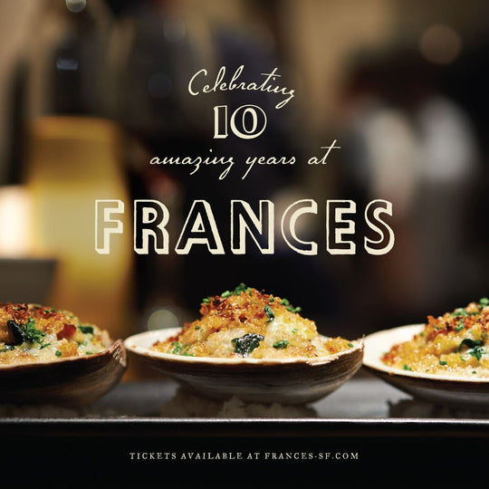 Frances Charity Dinner Series