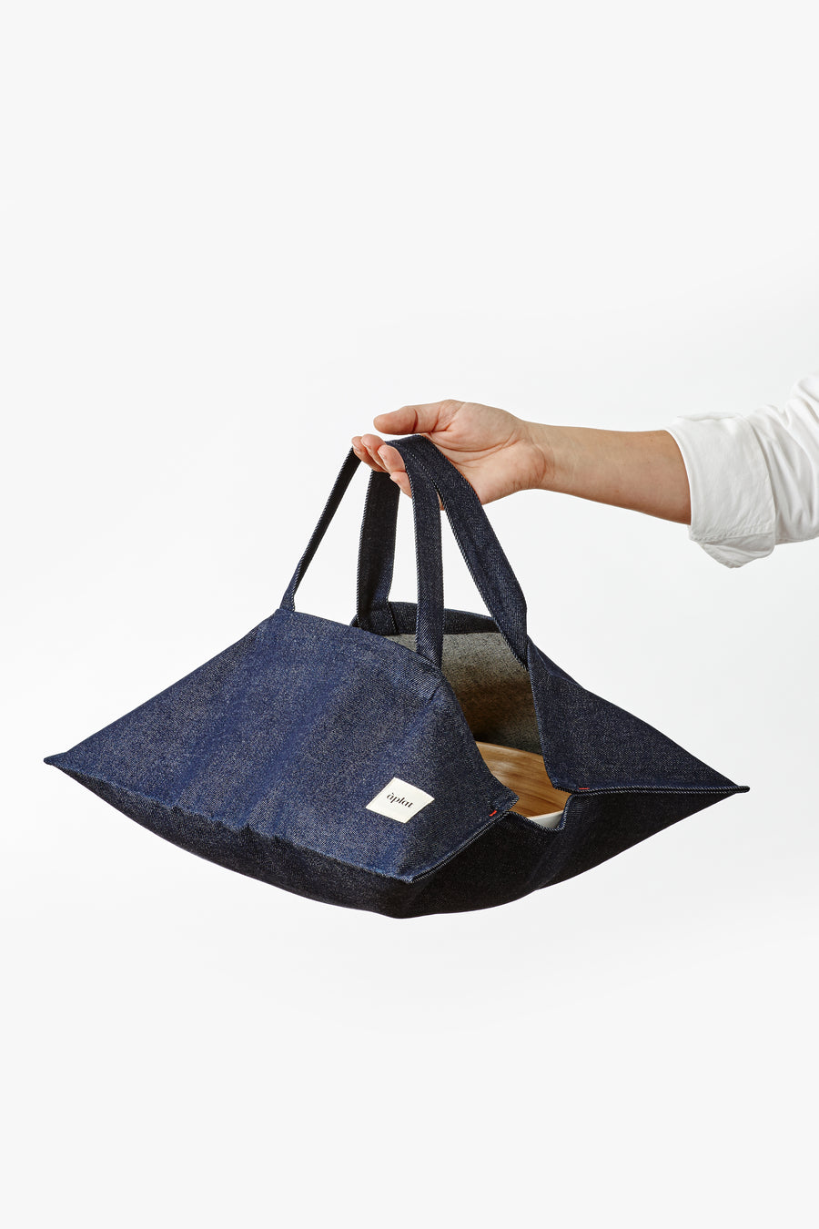 Plat Culinary Wide Tote | Denim Dark