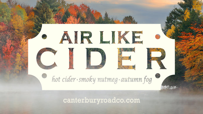 Air Like Cider | Outlander | Literary Candle | Candles for Bibliophiles