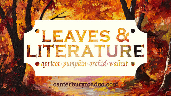 Leaves & Literature | Autumn Literature | Candles for Bibliophiles
