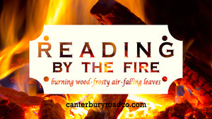 Reading By The Fire | Literary Candle | Candles for Bibliophiles