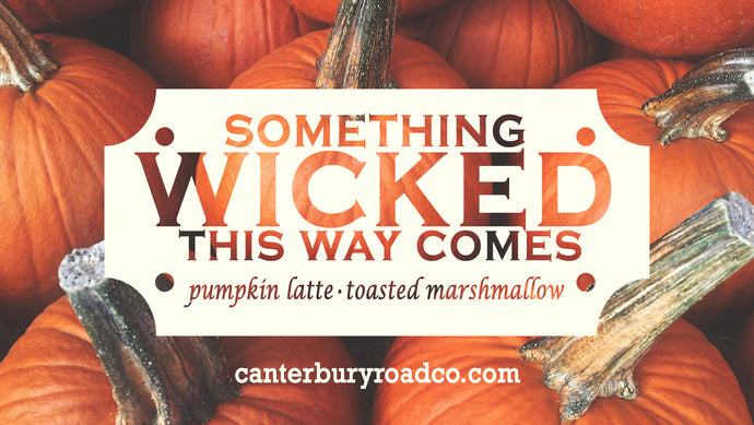 Something Wicked This Way Comes | Literary Candle | Candles for Bibliophiles