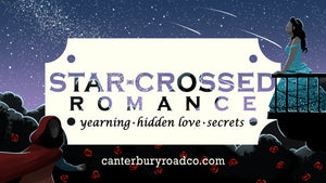 Star-Crossed Romance | Romance Trope Candles | Literary Candle